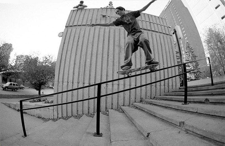First try 50-50 in Calgary back in 2001. ph Olsen